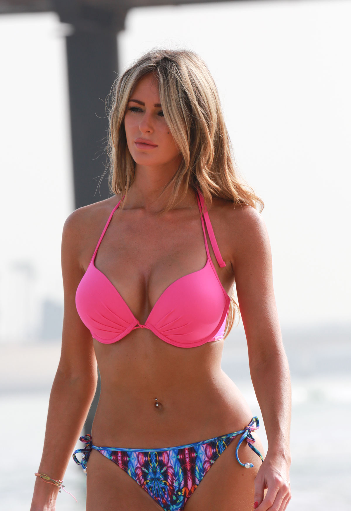 The 28 year old is a reality television star in England. Dorsett is best known for her role on the hit show The Only Way is Essex, a British equivalent of The Hills or Jersey Shore. Her time as a United WAG seems long-term, given she and boyfriend midfielder Tom Cleverley recently had a daughter together.