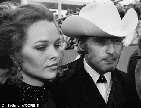 Dennis Hopper and Michelle Phillips