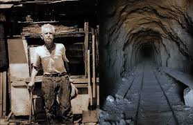 THIS IS THE MAN THAT DUG THE TUNNEL  ---Picture taken sometime before 1938 when he completed his tunnel.  Here's the story in brief: