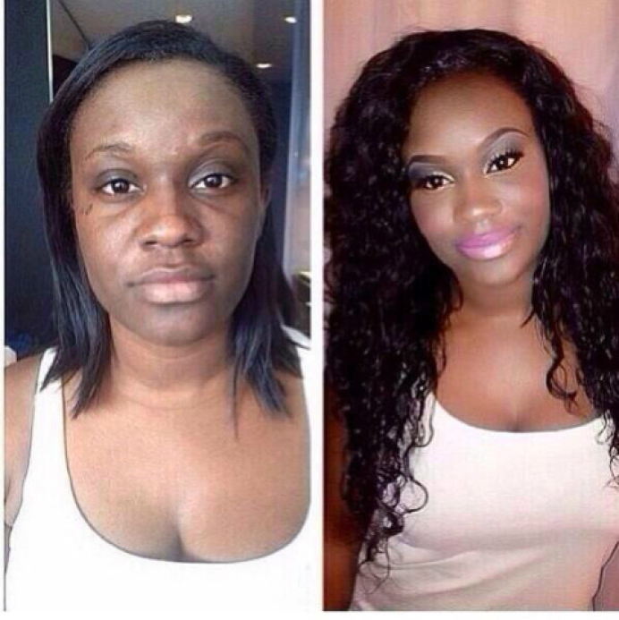 These 13 Shocking Photos Will Show You How Women Deceive Men With Makeup