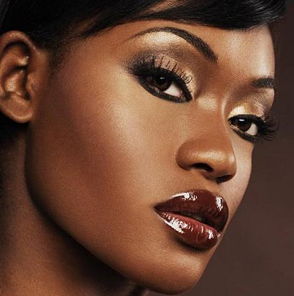 Black-Skin-makeup-tips-for-woman